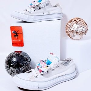 Converse Shoes - Converse Star Appearance Double Tongue size 6💋